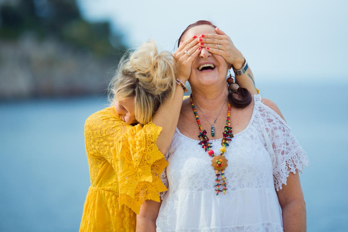 maman et sa fille . Séance photo fête des mères à Nice