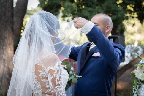 Un mariage entre Nice et le Castellet : La découverte de la mariée au Castellet