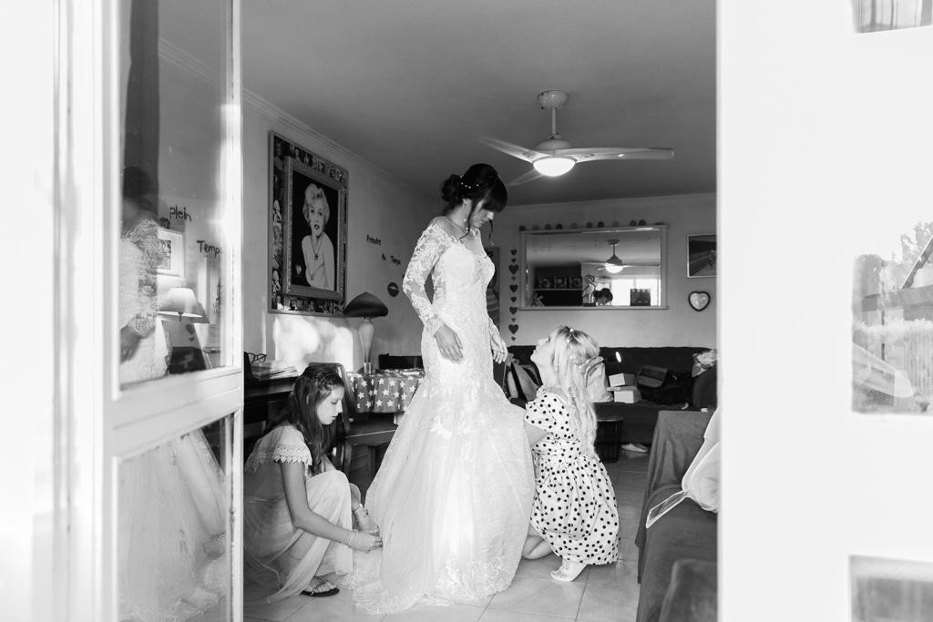 Un mariage entre Nice et le Castellet : Les préparatifs d'une mariée à Nice