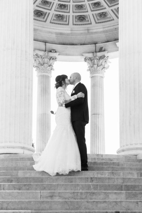 Un mariage entre Nice et le Castellet : Photo de mariage au Parc Chambrun à Nice