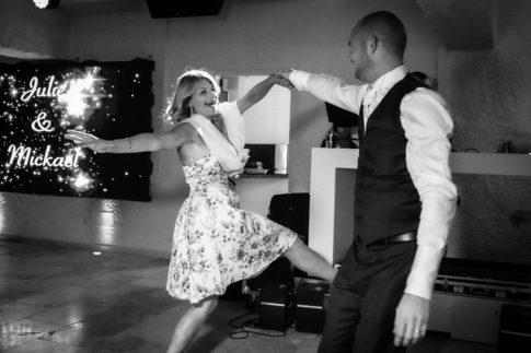 Un mariage entre Nice et le Castellet : Soirée dansante lors d'un mariage au Castellet
