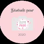 Logo de bénévole dans l'association On pose pour le rose