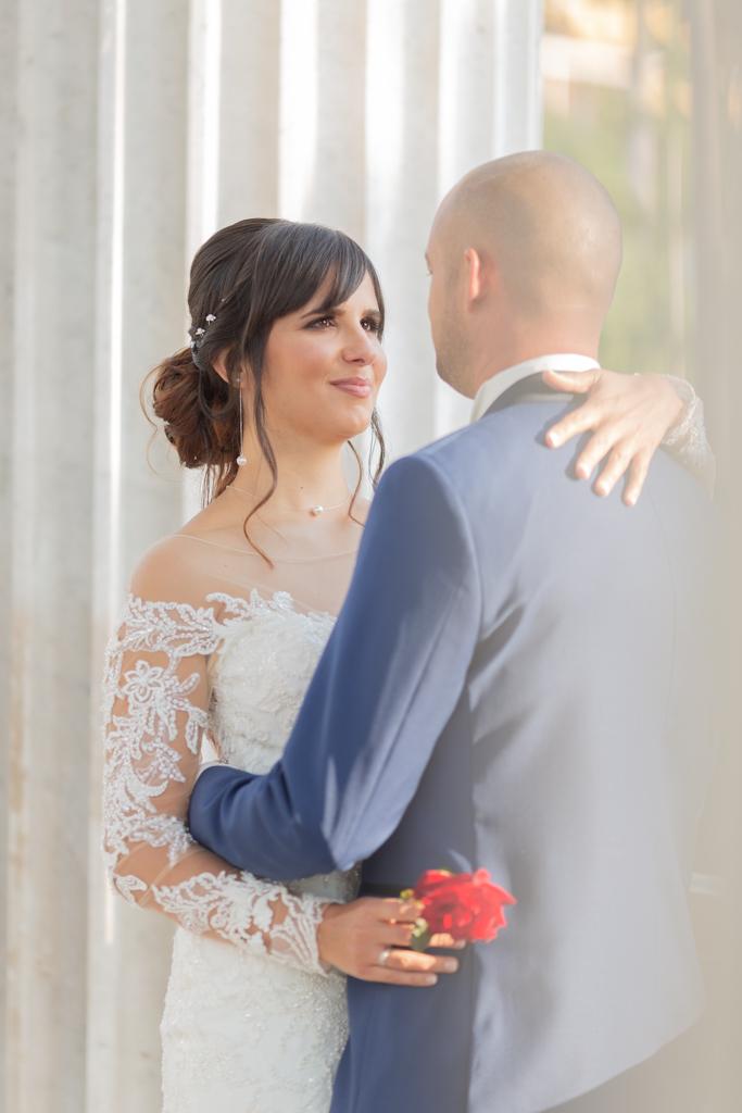 photo d'un couple lors de leur mariage à Nice. Myriam Ohayon Photographe